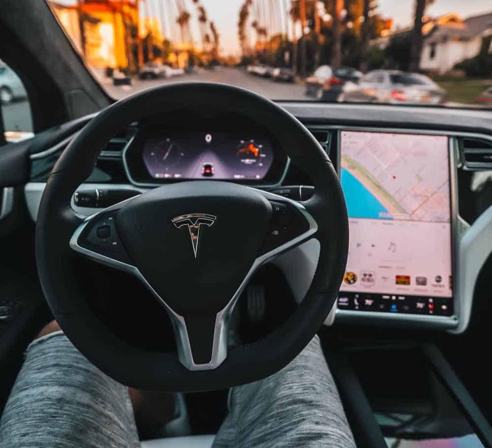 Tesla Self Driving Car