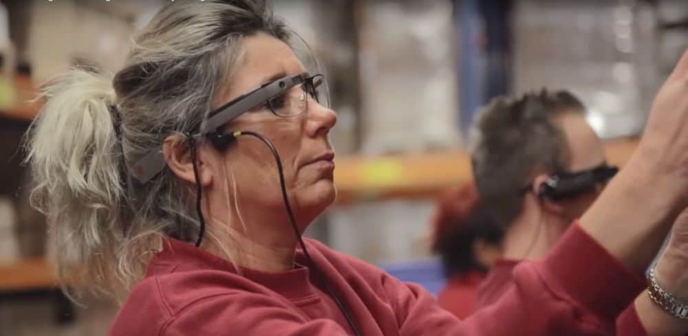 Smart Glasses Used in DHL to improve Warehouse logistics