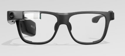 Google Glass Enterprise Edition 2 - Example of Monocular Smart Glasses
