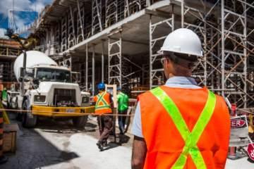 Construction Site - a place where AR has great porential