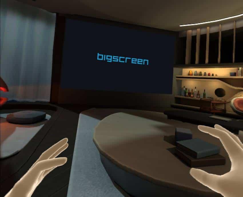 Bigscreen Home environment