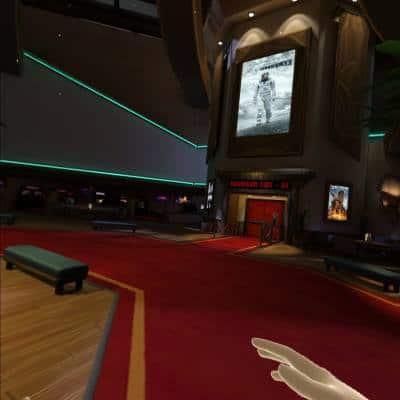 Bigscreen Cinema Lobby