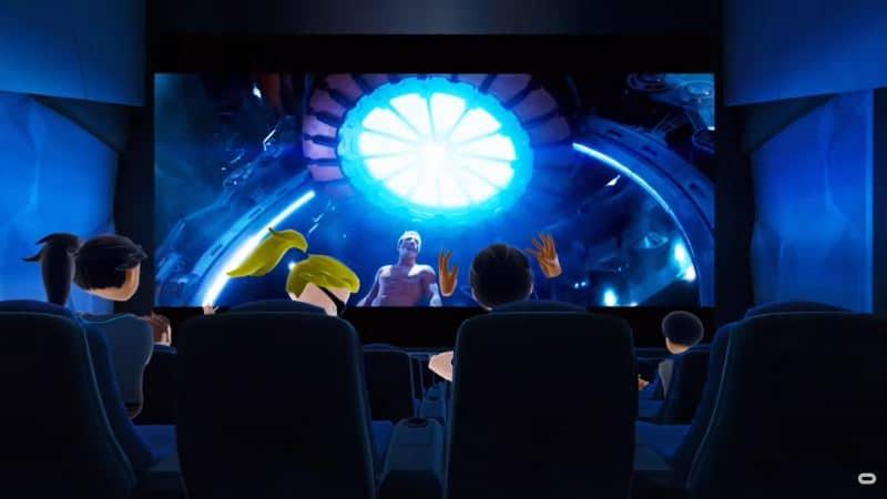 Bigscreen VR social movie watching